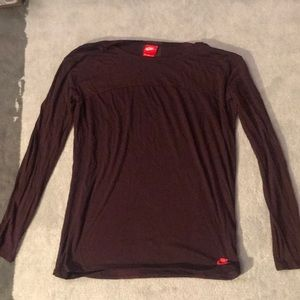 Nike long sleeve top. Size medium